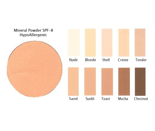 Mineral Powder Compact SPF-8